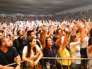 Público lotou o Poliesportivo da UNIFEI