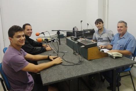 Fernando Benitez, Leandro Riera, Laércio Siqueira e João Paulo Del Ducca